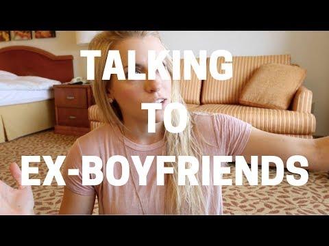 Ask Emily : Is It OK to Talk to Ex-Boyfriends?