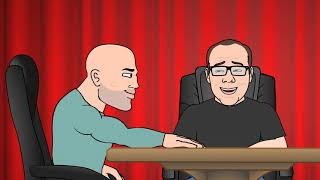 Harry The Pipe Tree Moment - JRE Toon