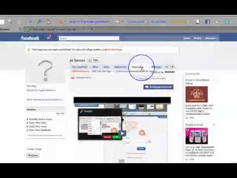 Facebook Tip - Add Youtube & Twitter to Your Facebook Fan Page