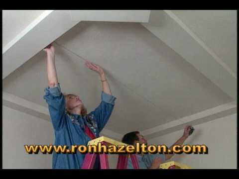 How to Install Wooden Ceiling Panels