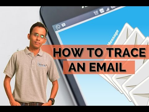 How to trace an email