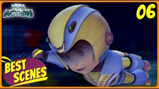 BEST SCENES of VIR THE ROBOT BOY | New Episode | Animated Series For Kids | #06 | WowKidz Action