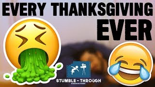 Every Thanksgiving Ever Funny Video