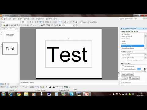 How to Loop a PowerPoint