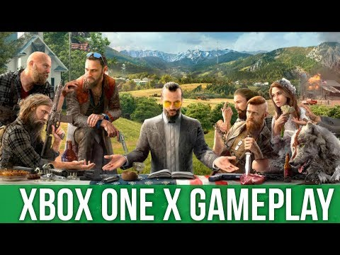 Far Cry 5 - Xbox One X Gameplay (Gameplay / Preview)