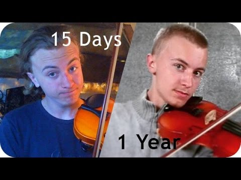 A year learning how to play the violin/fiddle ! Progress video