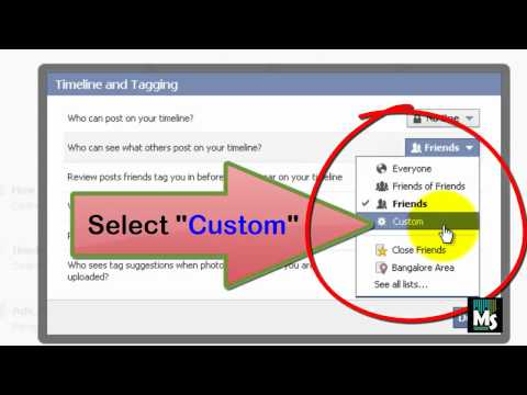 How to make what others post on your facebook timeline hidden for certain friends