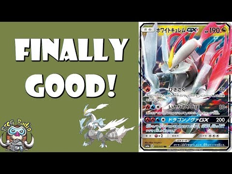 White Kyurem-GX – It Finally Gets a Good Pokemon Card!