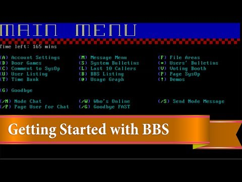 bulletin board systems - what people did before the internet