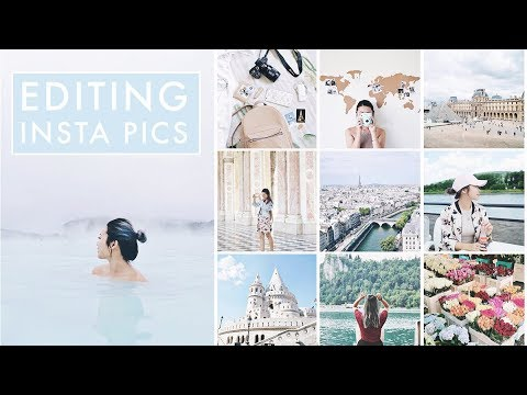How I Edit My Instagram Photos & Plan My Feed 📷 2017