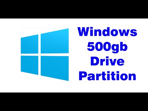 DISK PARTITION ON DISK MANAGEMENT TOOL ON 500GB
