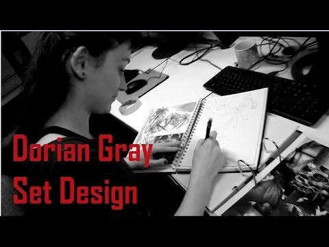 Doppelganger Productions - Dorian Gray: Maria's initial set design ideas!