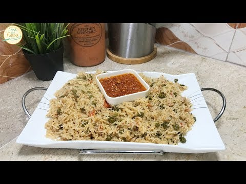 Cholia Pulao Recipe - Green Channa Pulao Recipe By Cook With Fariha
