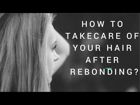 How To Take Care Of Your Hair After Rebonding I The Beauty Cuts