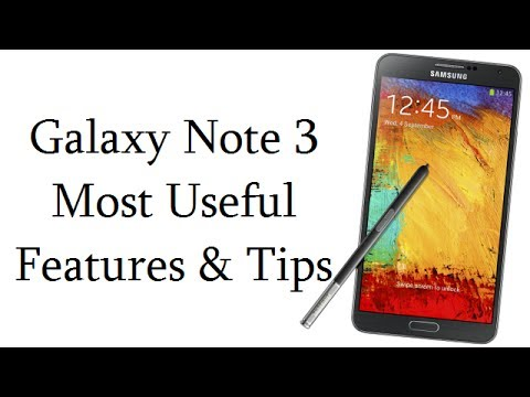 Samsung Galaxy Note 3 Most Useful Features, Tips, Tricks And Less Known Settings Make Life Easier