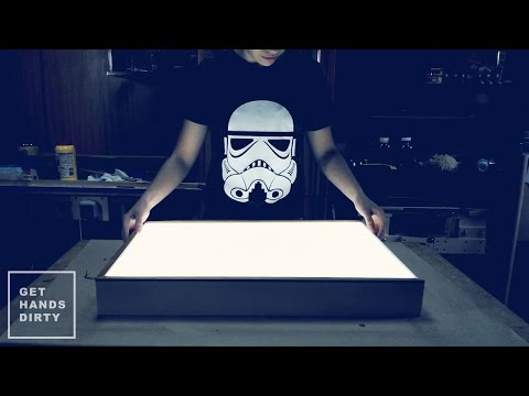 Make an LED Light Box