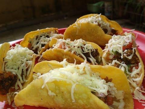 TACOS ( Easy veg Panner chilli tacos)