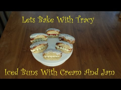 Lets Bake With Tracy-Episode 10-Iced Buns