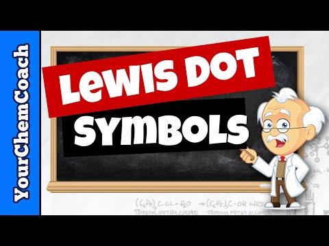 How to Draw Lewis Dot Symbols or Electron Dot Diagrams
