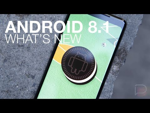 What's New Android 8.1