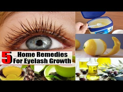 5 Easy Home Remedies for Thicker and Longer Eyelashes.