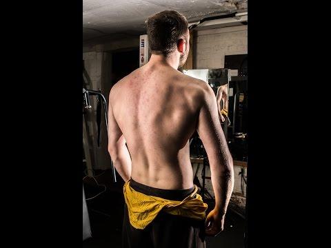 Teen bodybuilding- Wide Back/ V Taper Workout W/  Liam Swan
