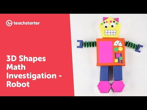 3D Robot Maths Investigation