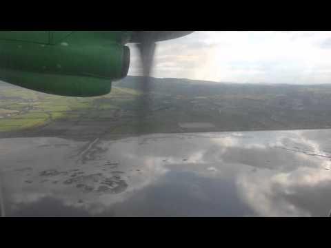Aer Arann ATR42 Landing Derry airport.