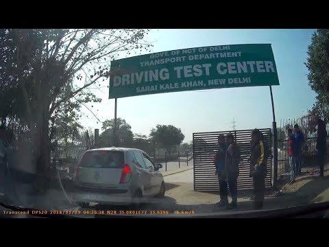 Driving license Test New Delhi India