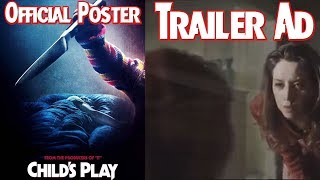 Download Child's Play 2019 Official Poster (My Thoughts) & Ad For Trailer Tomorrow Video