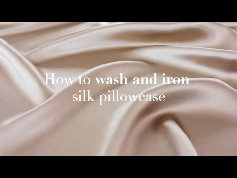 How to wash your Silk Pillowcase by Dariia Day