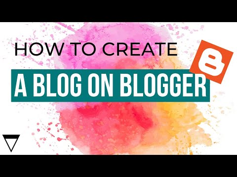 How to Create a Blog on Blogger - 2013 [part 1]