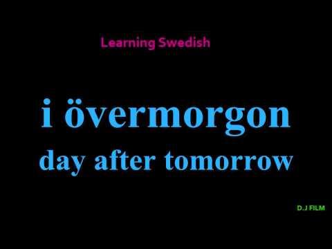 Learning Swedish (Lesson 7)