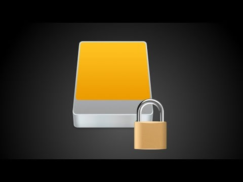 How to Encrypt and Password Protect an External Hard Drive using Mac OS High Sierra