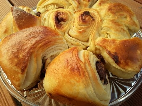 Puff Pastry Bread/Cake with Nutella