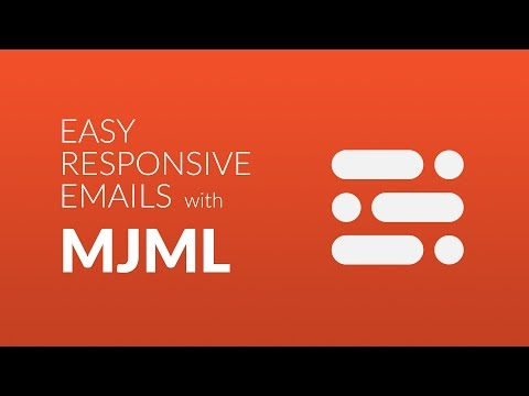 Start to build responsive emails with MJML