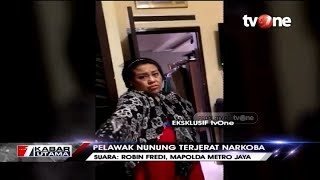 Eksklusif tvOne! Detik-detik Pelawak Nunung Ditangkap Polisi Gara-gara Narkoba