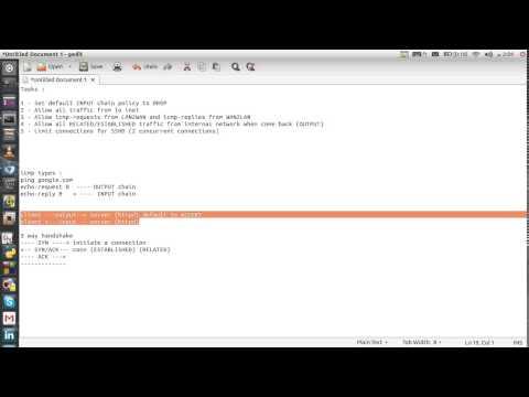 NF_IPTables (LAB) part 05 (شرح عربي)