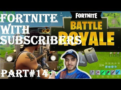 FORTNITE WITH SUBSCRIBERS HINDI part 14 Ps4