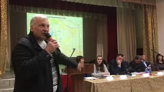 Публичные слушания по разрезу Степановскому. Районный врач всех «разорвал»