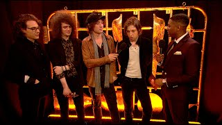 Catfish and the Bottlemen backstage at The BRITs l The BRIT Awards 2016