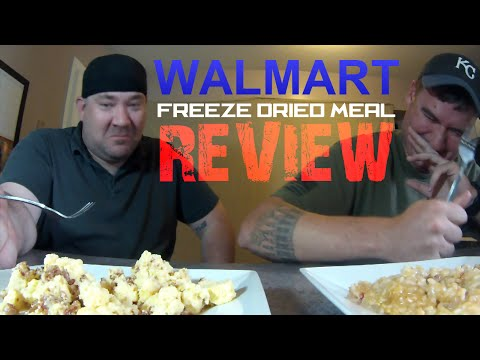 WALMART Mountain House Freeze Dried Meal REVIEW