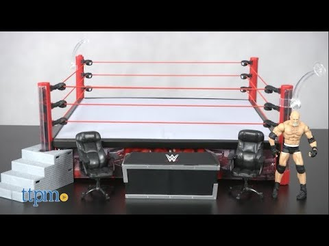 WWE Elite Collection RAW Main Event Ring from Mattel