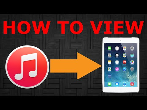 View iTunes Library on iPad | Tutorial