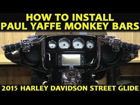 How to Install Paul Yaffe Monkey Bars on a Harley Davidson Street Glide Ultra Classic