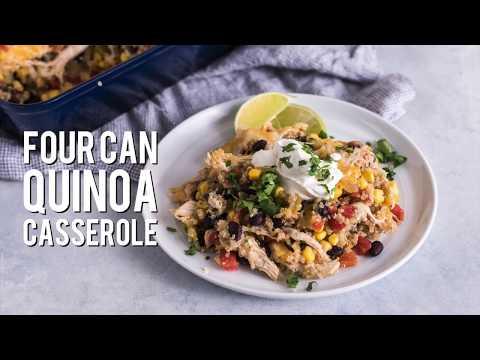 Four Can Quinoa Casserole