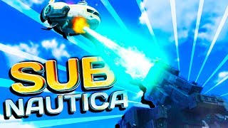 DID A LAZER HIT OUR SHIP?! - Subnautica Full Release Gameplay