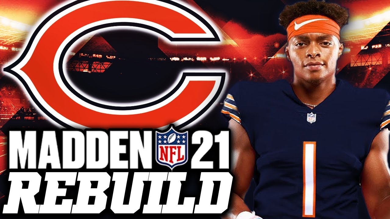 Rebuilding the Chicago Bears WITH JUSTIN FIELDS | The BEST ROOKIE in NFL History