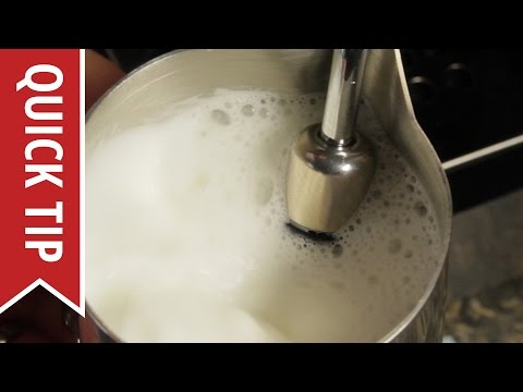 Quick Tip: Five Basic Tips for Frothing Milk