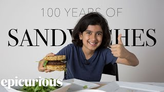 Kids Try 100 Years of Sandwiches from 1900 to 2000 | Bon Appetit